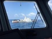 Tàu hải quân TQ ngăn cản tàu cứu nạn VN ở Hoàng Sa