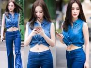 Thời trang - Tuần qua: Angela Phương Trinh khoe eo thon tuyệt mỹ