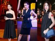 Thời trang - 7 bóng hồng mặc màu đen đẹp nhất nhì Việt Nam