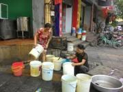 Tin tức - HN: Nhà hàng, quán ăn… lao đao do mất nước kéo dài