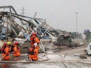 Tin tức - Kho hàng bị nổ ở cảng Thiên Tân chứa số chất độc gấp 70 lần