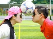 """Làng sao - Nguyên Khang, Thanh Thảo Hugo đồng hành cùng """"Cầu thủ nhí"""""""