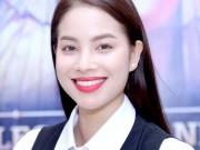 """Làng sao - Phạm Hương rạng ngời giữa """"bão"""" HHHV Việt Nam"""