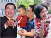 Làng sao - 7 ông bố Vbiz lo kiếm tiền nuôi con nhỏ khi đã qua bên kia dốc của cuộc đời
