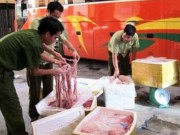Tin tức - Xe khách chở 500kg nội tạng thối và động vật hoang dã