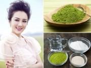 Làm đẹp - Bột trà xanh – siêu mặt nạ cho mọi loại da