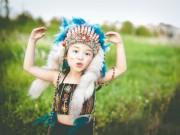 Làm mẹ - Bé gái Hà Nội hóa thân thành thổ dân nhí xinh đẹp