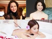 """Làm đẹp mỗi ngày - """"Soi"""" bí quyết làm đẹp của sao Việt"""