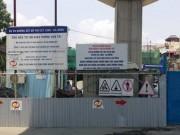 Tin tức - Hà Nội: Lại rơi sắt từ dự án đường sắt trên cao Cát Linh - Hà Đông