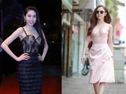 Thời trang - Sao Việt so kè vòng 1 bằng đầm corset