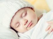 Bảng giờ ngủ chuẩn của trẻ dưới 1 tuổi theo từng tháng