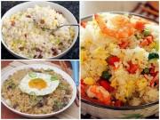Bếp Eva - 3 món cơm rang ngon cho bữa sáng cuối tuần