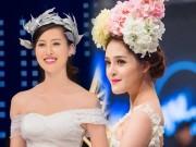 Thời trang - Á hậu Hoàng Anh, Hà Lade làm cô dâu xinh đẹp