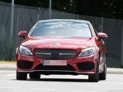 Lộ ảnh nóng Mercedes-Benz C-Class Coupe 2017