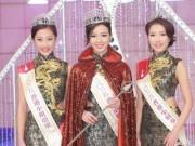 Làng sao - Nhan sắc dễ thương của Tân Hoa hậu Hồng Kông 2015