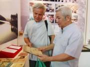 Tin tức - Ngắm gian sách cổ được triển lãm dịp Quốc khánh