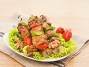 Bếp Eva - Thịt xiên rau củ áp chảo ngon hoàn hảo