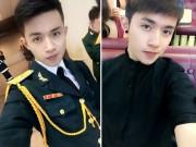 Làm đẹp - 'Đứng hình' trước vẻ đẹp trai của 'soái ca' mặc quân phục