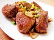 Bếp Eva - Thăn bò chiên đơn giản mà ngon