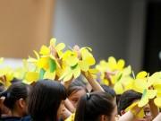 Tin tức - Màn đồng diễn của học sinh Marie Curie trong ngày khai giảng sớm
