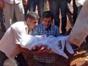 Tin tức - Xót xa giây phút tiễn đưa bé trai Syria chết đuối trên biển