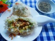 Bếp Eva - Xôi bọc lá dứa đậu xanh cho bữa sáng