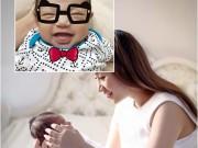 Làng sao - Lần đầu ngắm ảnh cận mặt con trai Khánh Thi