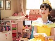 """Phòng ngủ trong mơ của """"tiểu công chúa"""" lai Á - Âu"""
