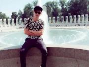 Làng sao - Hồ Quang Hiếu nhí nhảnh, trẻ trung tại Mỹ