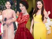 Thời trang - 3 nữ MC truyền hình ghi điểm vì lộng lẫy mà không bị chê sến