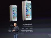 """iPhone 6S và 6S Plus trình làng: Camera """"xịn"""" hơn, giá không đổi"""