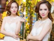 Thời trang - Đan Lê hai con vẫn hút hồn khi làm cô dâu