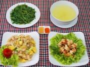 Bếp Eva - Bữa cơm chiều 3 món ngon miệng