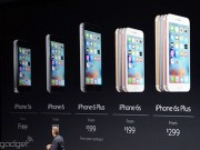 Apple giảm giá iPhone 5S, 6 và 6 Plus
