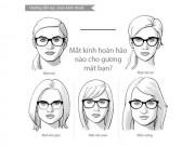 Làm đẹp - Bí quyết chọn kính thuốc cho từng dạng khuôn mặt