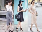 Thời trang - Tuần qua: Sao Việt sành điệu chẳng cần màu mè!