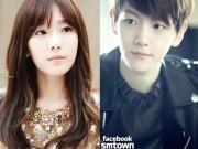 """Làng sao - Taeyeon (SNSD) và Baekhyun (EXO) """"đường ai nấy đi"""""""