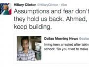 Tin tức - Mỹ: Nam sinh 14 tuổi bị bắt vì chế đồng hồ giống quả bom