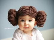 Không biết đan móc, mẹ vẫn thoải mái làm mũ len công chúa