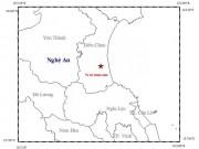 Tin tức - Nghệ An rung lắc vì động đất 3,6 độ richter