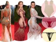 Thời trang - Những bí mật về đồ lót khi mỹ nhân mặc váy xuyên thấu
