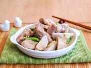 Bếp Eva - Thịt kho khoai môn lạ miệng mà ngon