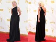 """Lady Gaga """"bớt dị"""" trên thảm đỏ Emmys 2015"""