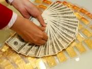Mua sắm - Giá cả - Vàng, USD giảm giá ngày đầu tuần