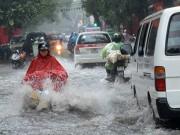 Tin tức - Bắc Bộ mưa lớn, cảnh báo ngập lụt tại Hà Nội