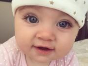 Làm mẹ - Facebook em bé Úc đẹp nhất thế giới cán mốc 350.000 fan