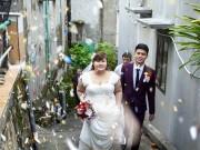 Eva Yêu - Nhiều 'khách không mời' trong đám cưới cặp đôi chênh 30kg