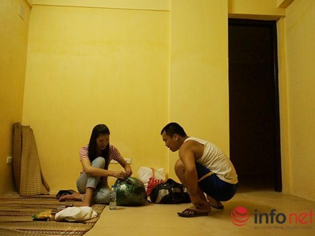 Cận cảnh nhà ở tạm của người dân khu 107 Trần Hưng Đạo