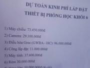Tin tức - Sở GD&ĐT Hà Nội tiếp tục chấn chỉnh thu chi đầu năm học