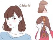 Làm đẹp - Trổ tài biến tấu cho tóc theo 4 mùa